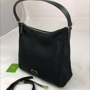 New! Kate Spade Nylon Shoulder Bag Crossbody Black
